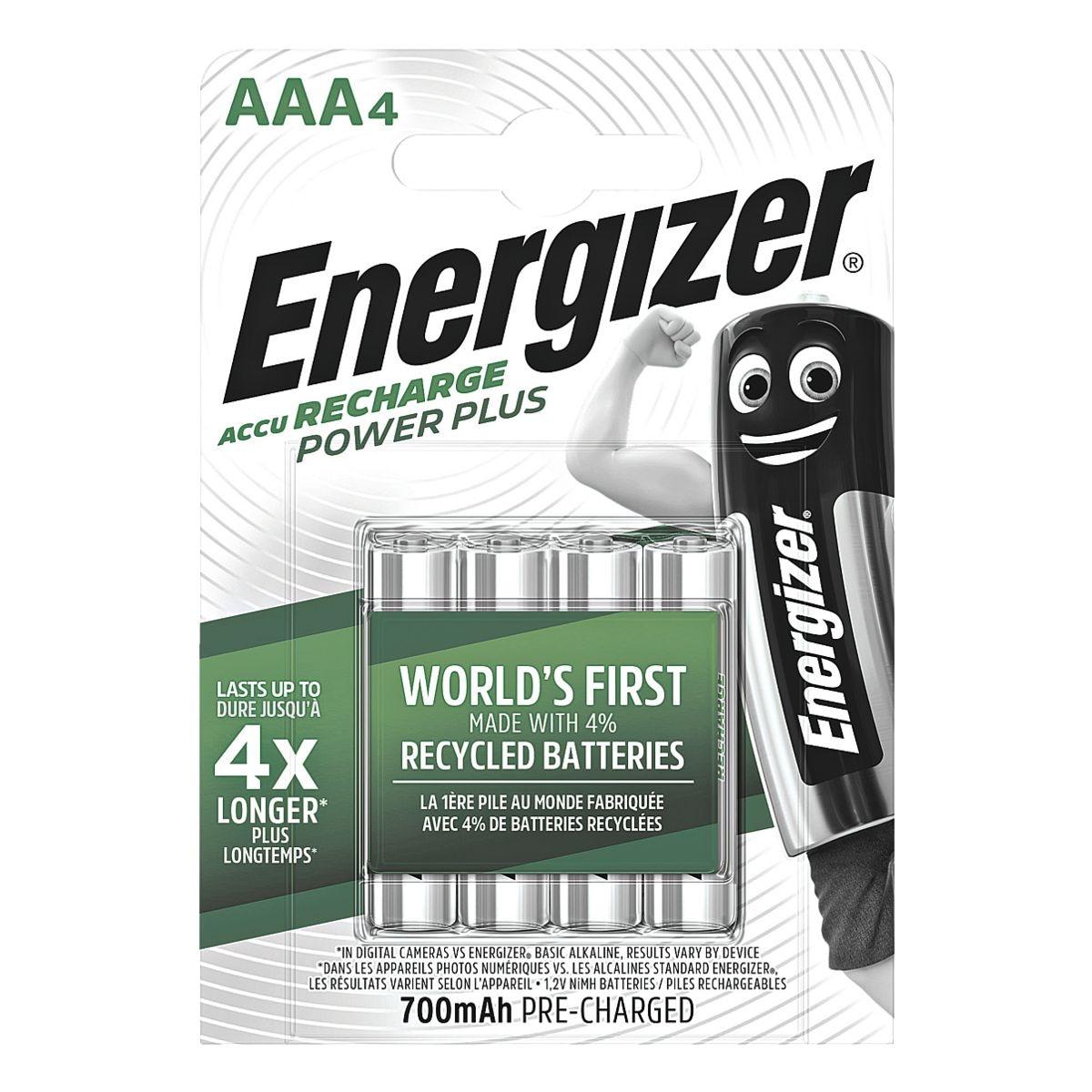 Energizer Akkus »Power Plus« Micro / AAA / HR3