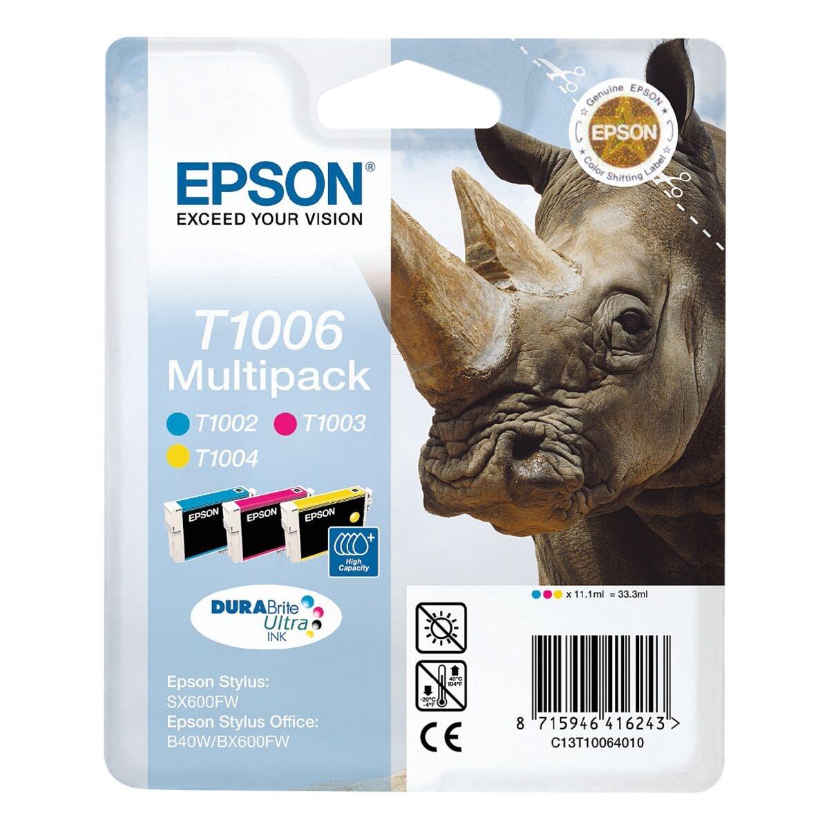 epson tintenpatronen set t10064010 nr t1006 bei otto. Black Bedroom Furniture Sets. Home Design Ideas