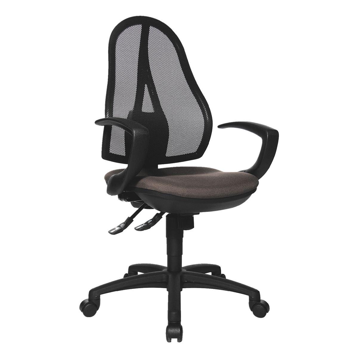 Bürostuhl Topstar »Open Point SY« ohne Armlehnen, Fußkreuz schwarz