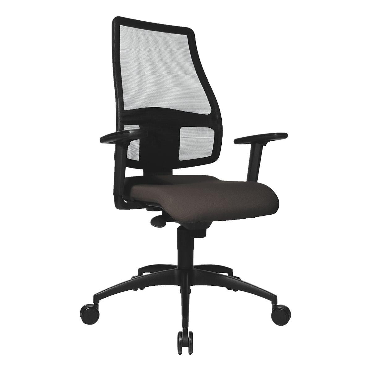 b rostuhl topstar syncro net ohne armlehnen fu kreuz schwarz bei otto office g nstig kaufen. Black Bedroom Furniture Sets. Home Design Ideas