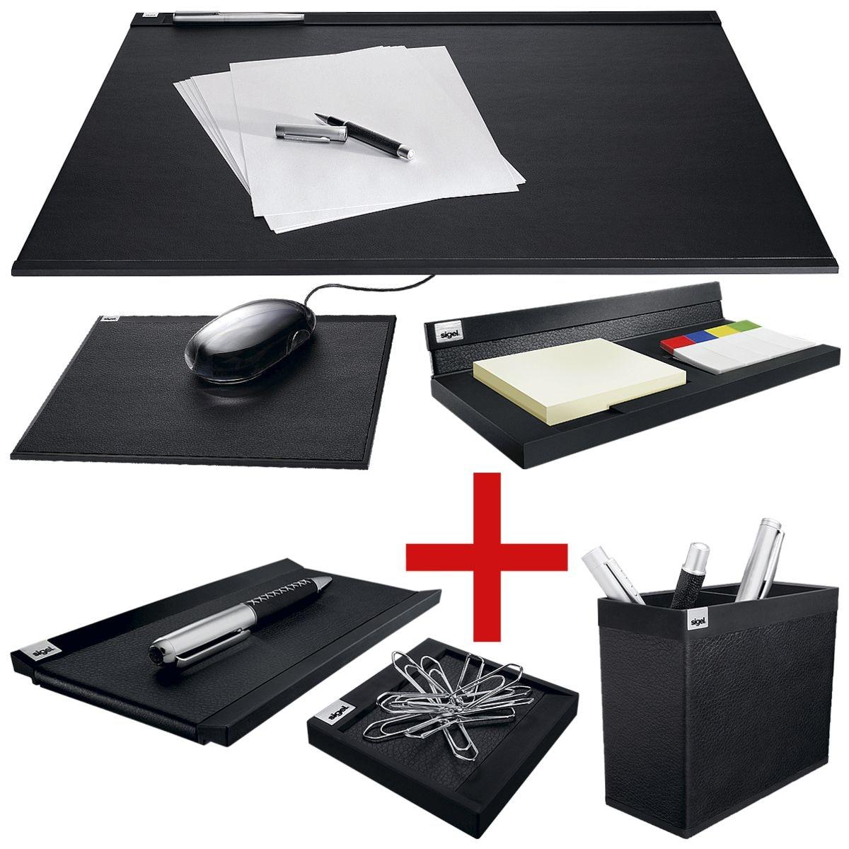 sigel premium schreibtisch set cintano s bei otto office g nstig kaufen. Black Bedroom Furniture Sets. Home Design Ideas