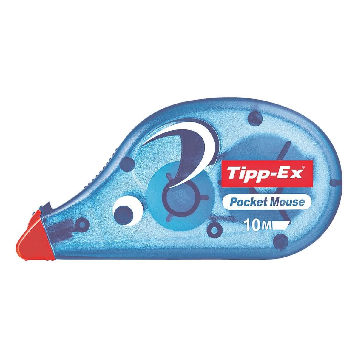 Tipp-Ex Einweg-Korrekturroller Pocket Mouse, 4,2 mm / 10 m