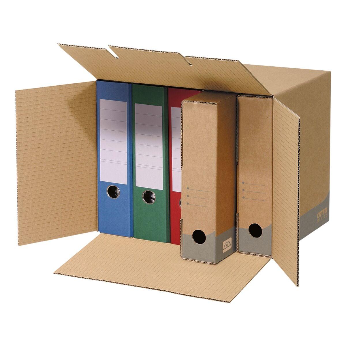 otto office budget 10er pack ablage container bei otto office g nstig kaufen. Black Bedroom Furniture Sets. Home Design Ideas