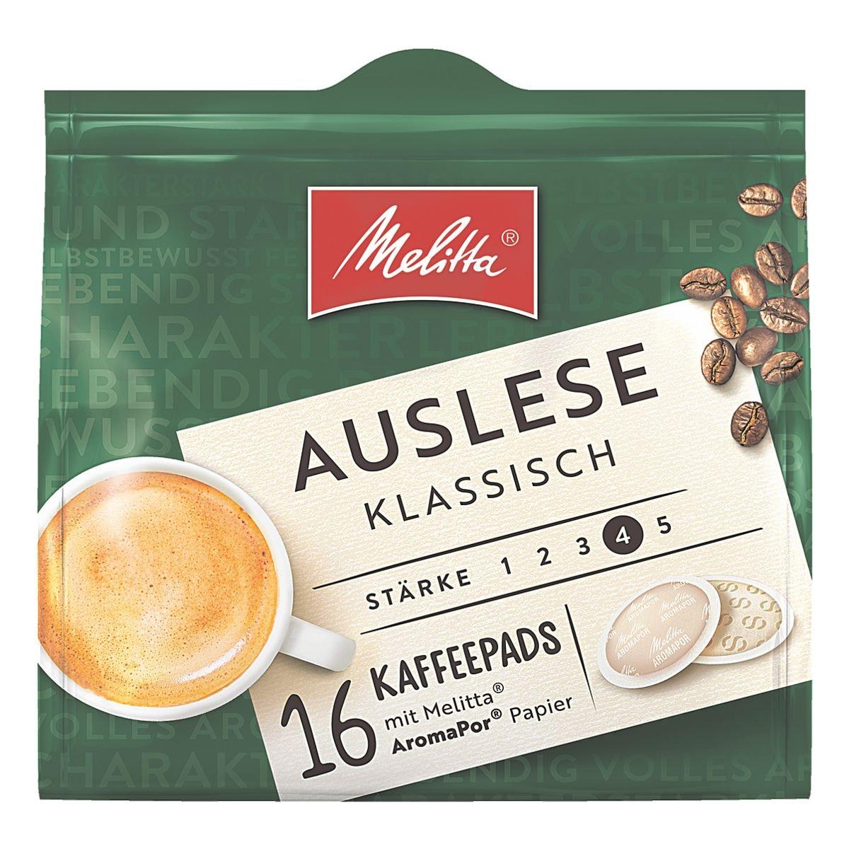Melitta Kaffeepads »Auslese«