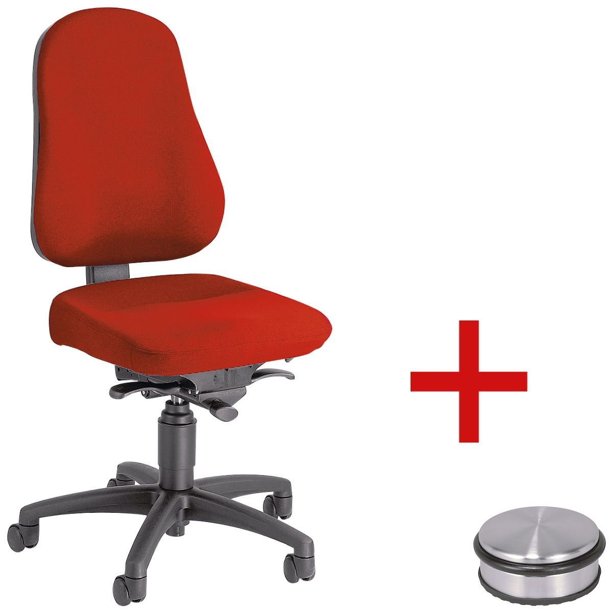 b rostuhl topstar balance 50 ohne armlehnen inkl t rstopper disc bei otto office g nstig. Black Bedroom Furniture Sets. Home Design Ideas