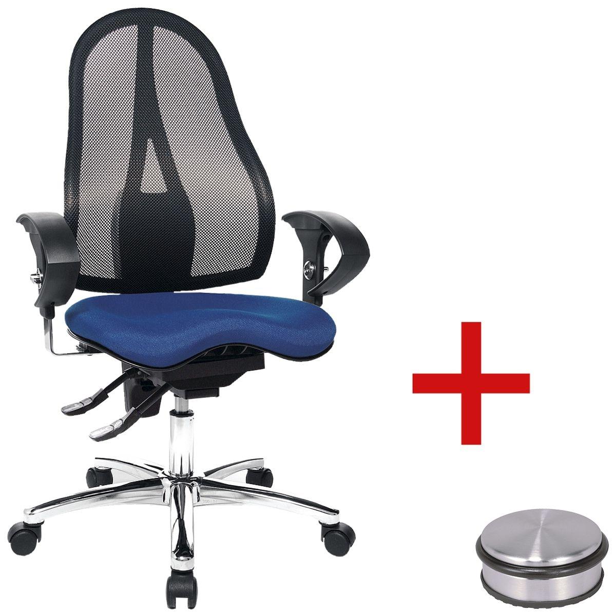 b rostuhl topstar sitness 15 mit armlehnen inkl t rstopper disc bei otto office g nstig. Black Bedroom Furniture Sets. Home Design Ideas