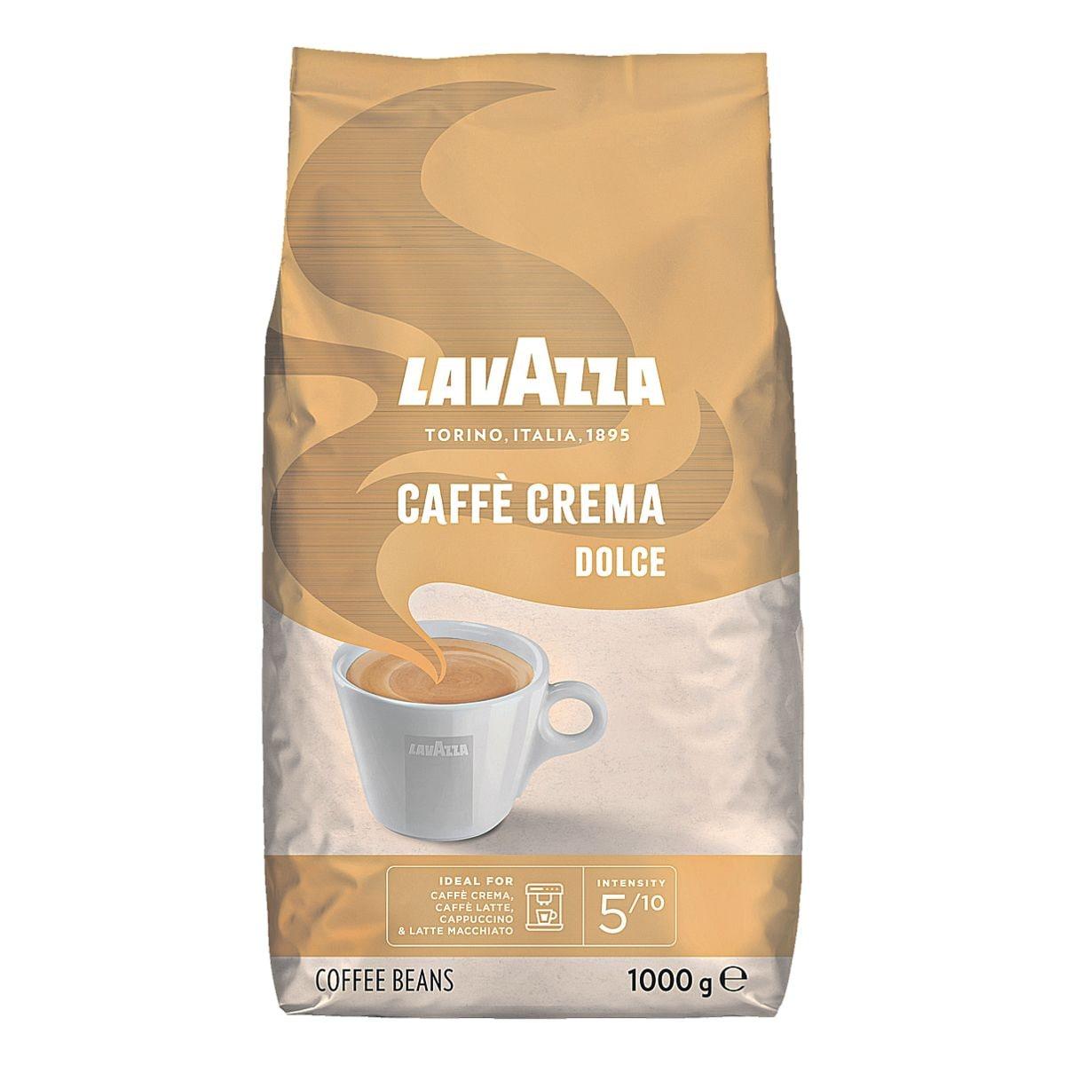 lavazza kaffee ganze bohnen caff crema dolce bei otto office g nstig kaufen. Black Bedroom Furniture Sets. Home Design Ideas