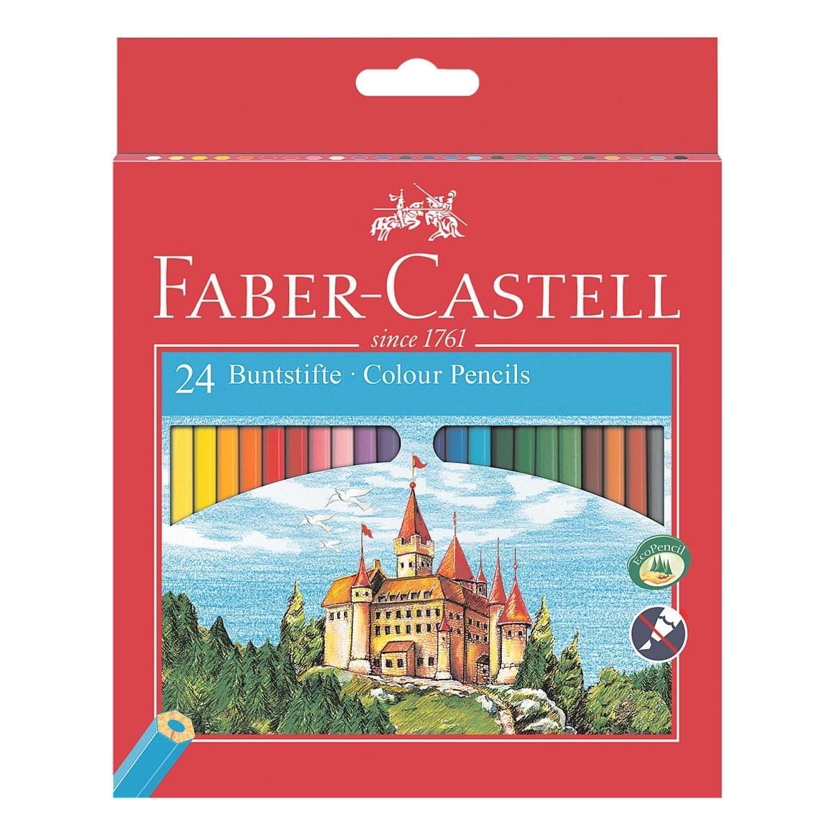 Faber-Castell (Schule) 24er-Pack Buntstifte »Castle«