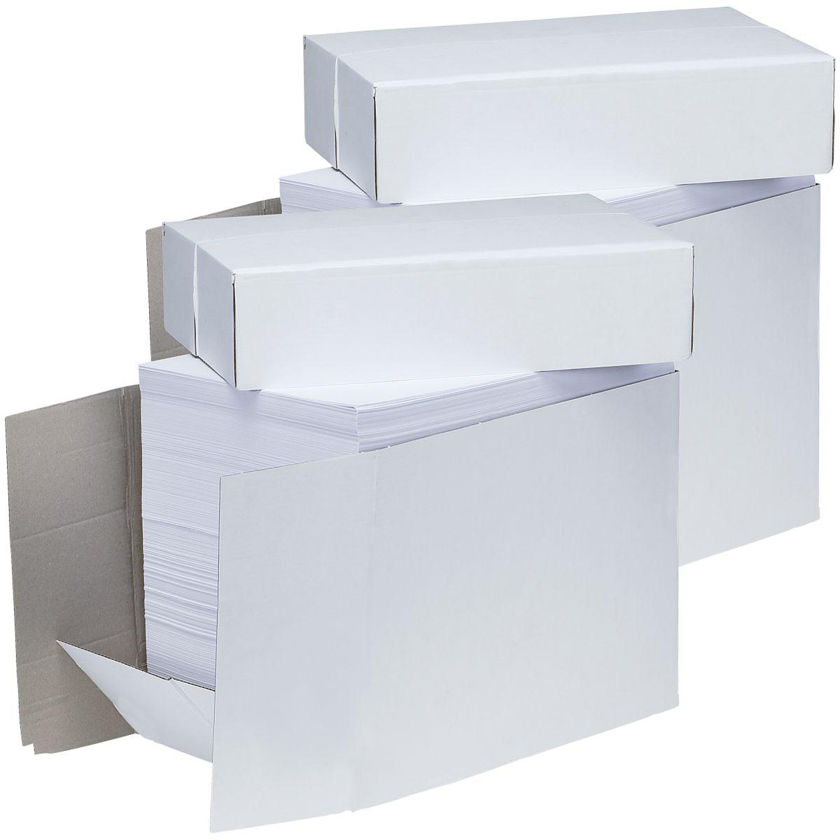 2x Öko-Box Kopierpapier A4 - 5000 Blatt gesamt, 80 g/m²