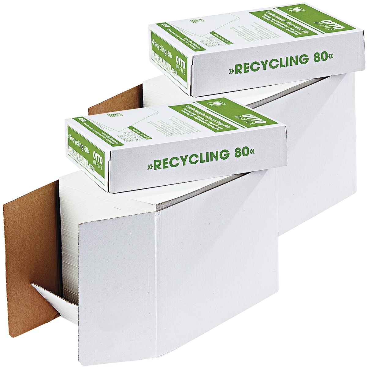 2x Recyclingpapier A4 OTTO Office Nature Recycling - 5000 Blatt gesamt