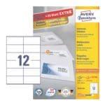 Avery Zweckform 2640er-Pack Universal Klebeetiketten »3424-200«