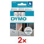 Dymo 2x D1-Beschriftungsband