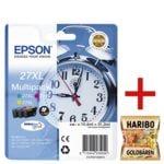 Epson Tintenpatronen-Set XL »T2715« Nr. 27XL inkl. Fruchtgummi »Goldbären«