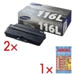 Samsung 2 Toner »ML-D116L« inkl. Fruchtgummi »Roulette«