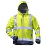 Warnschutz-Softshell-Jacke mit Kapuze »LIAM« Größe L
