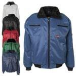 Winter-Piloten-Jacke »GLETSCHER« Größe L
