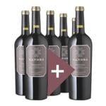 Rindchen's Weinkontor 6er-Pack Rotwein »2017 Primitivo Salento, Sandrá«
