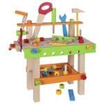 49-teilige Spielzeug-Werkbank mit Zubehör