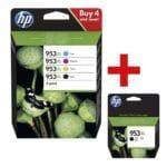 HP Tintenpatrone HP 953XL Multipack - 3HZ52AE inkl. Tintenpatrone »HP LOS70AE« HP 953XL