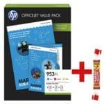 HP Tintenpatrone, cyan, magenta, gelb inkl. Fruchtgummi »Roulette« 25 g