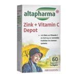 Zink + Vitamin C Depot - 60 Stück