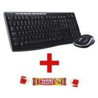 Logitech Kabelloses Desktop-Set »MK270« inkl. Fruchtgummi »Roulette«