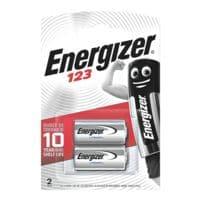 Energizer 2er-Pack Photo Batterien »Spezial Lithium Foto« 123 / CR17345