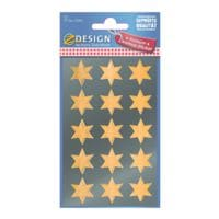 ZDesign Weihnachtssticker »Sterne«