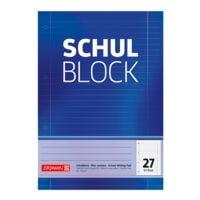 Brunnen Schulblock, A4, liniert (Lineatur 27), ab 5. Klasse