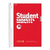 Brunnen Collegeblock Student A4 kariert, 80 Blatt