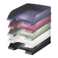 LEITZ Briefablage 5254 Style, A4 Polystyrol, stapelbar bis 10 Stück
