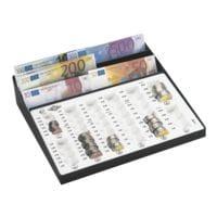 Wedo Geldzählbrett mit Scheinfach »Fassung - 125,75 € Hartgeld«