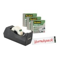 Scotch Tischabroller »C38« mit 3x Magic™ Tape 900 »the greener choice«