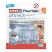 Powerstrips »Transparent Deko-Haken« 58813 bis 1 kg