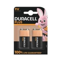 Duracell 2er-Pack Batterien »Plus« E-Block / 6LR61