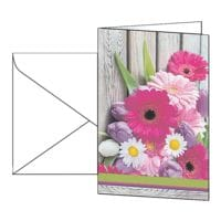 Motivkarte SIGEL Colorful, A6, mit Umschlag, 10 Stück