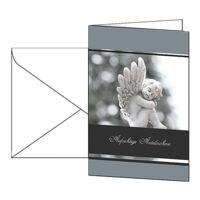 Trauerkarte SIGEL Im Gedenken, A6, mit Umschlag, 10 Stück