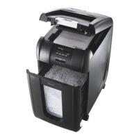Aktenvernichter Rexel Auto+ 300M, Sicherheitsstufe 5, Mikroschnitt (2 x 15 mm) bis 300 Blatt