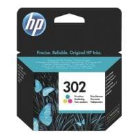 HP Tintenpatrone HP 302, 3-farbig - F6U65AE