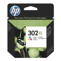 HP Tintenpatrone HP302XL, 3-farbig - F6U67AE