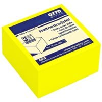 OTTO Office Haftnotizwürfel brilliantgelb 75x75 mm 400 Blatt