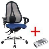 Bürostuhl Topstar »Sitness 15« mit Armlehnen inkl. Powerbank A5200