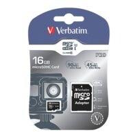 Verbatim microSDHC-Speicherkarte »Pro U3 16GB«
