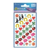 ZDesign Papier Sticker »Glücksbringer«