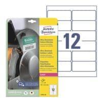 Avery Zweckform Ultra-Resistente 99,1x42,3 mm Folien-Etiketten L7913-10