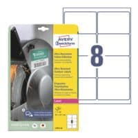 Avery Zweckform Ultra-Resistente 99,1x67,7 mm Folien-Etiketten L7914-10