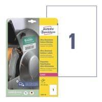Avery Zweckform Ultra-Resistente 210x297 mm (DIN A4) Folien-Etiketten L7917-10