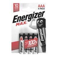 Energizer 4er-Pack Batterien »Max Alkaline« Micro / AAA / LR03
