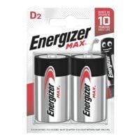 Energizer 2er-Pack Batterien »Max Alkaline« D / Mono