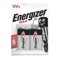 Energizer 2er-Pack Batterien »Max Alkaline« 9V / E-Block